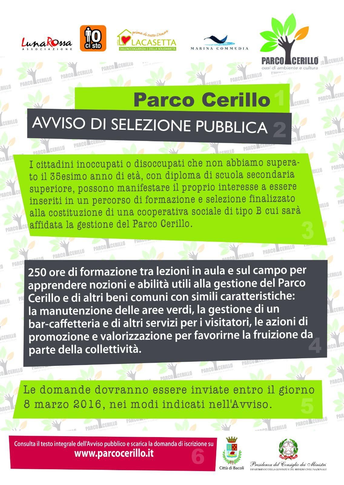 Locandina Parco Cerillo